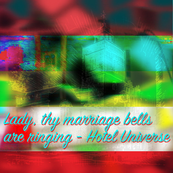 Lady, thy marriage bells are ringing cover